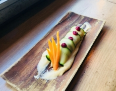 Canelón de calabacín con vichyssoise de manzana verde, nueva sugerencia del chef para el verano